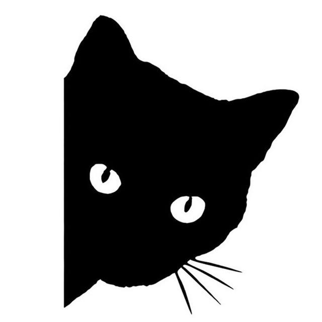 黒猫の無料イラスト集【可愛い系 / かっこいい・オシャレ系